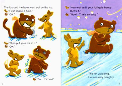 ECC教育研究所 教材「PAGE-TURNERS」クマのしっぽが短いわけ 北欧民話 2007
