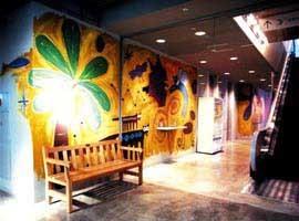 新神戸OPA 2Fフロア 壁画