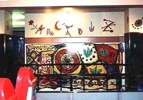 ゲームセンター 心斎橋アルカブズ 壁画