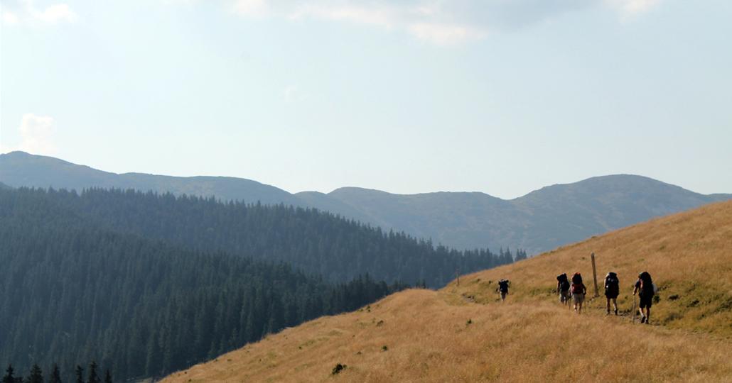 Nomadisch Wandern