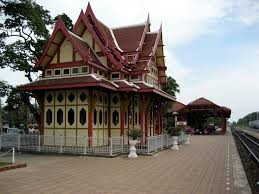 Train station Hua Hin