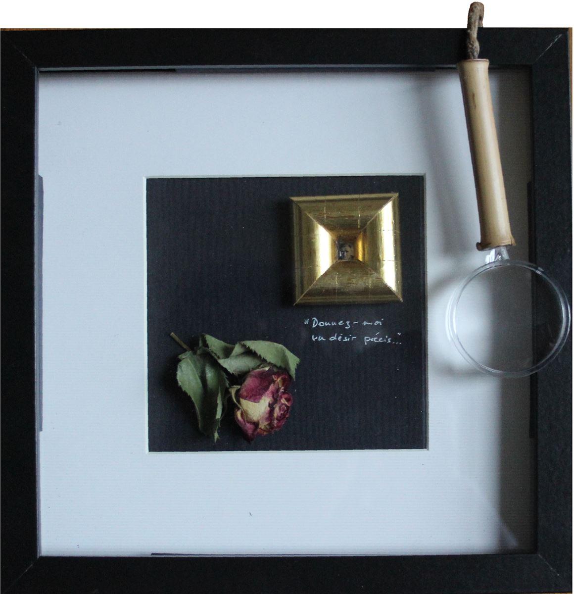 Hommage à Cioran. Technique mixte. 20 x 20 cm
