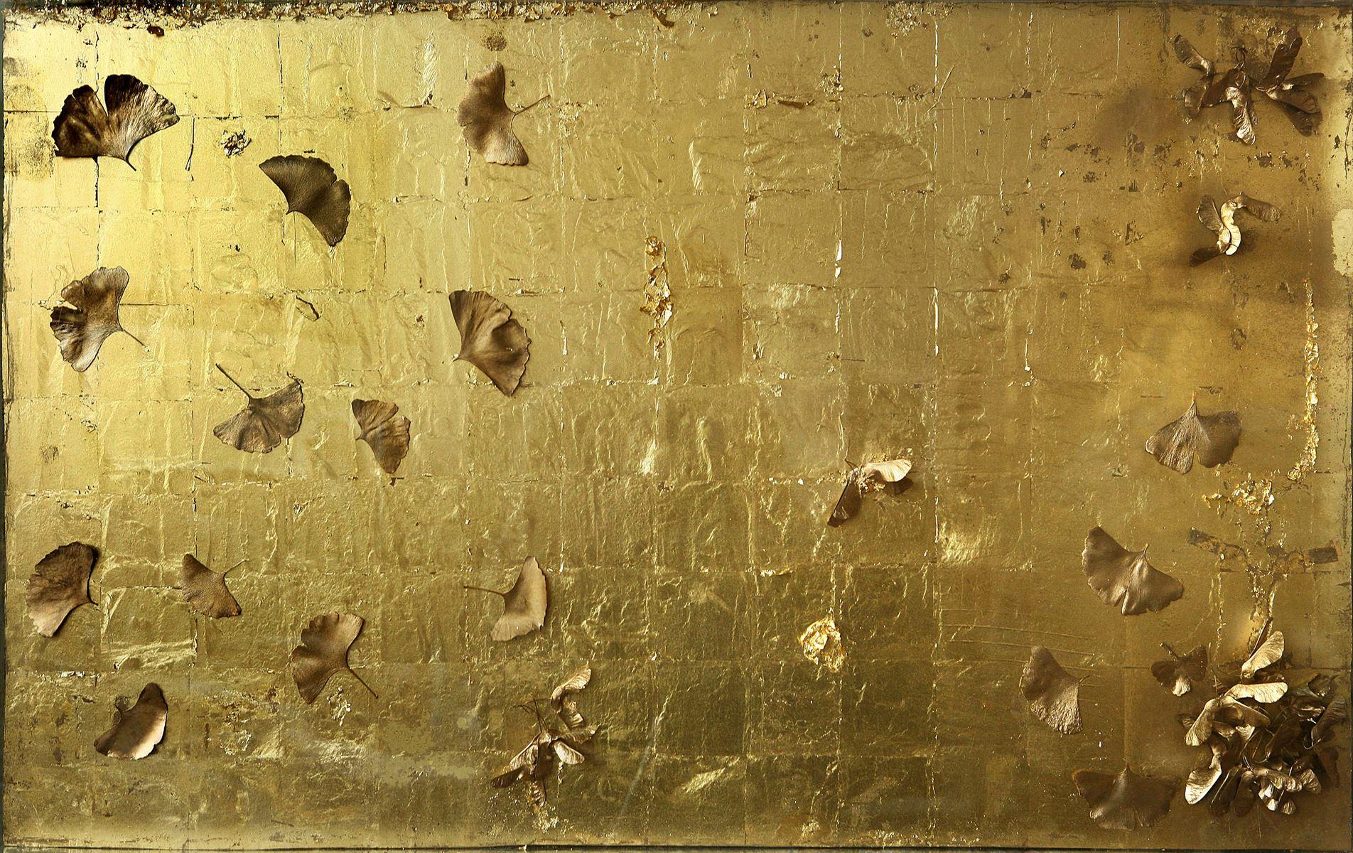 Tana. Technique mixte sur carton. 70 x 112 cm