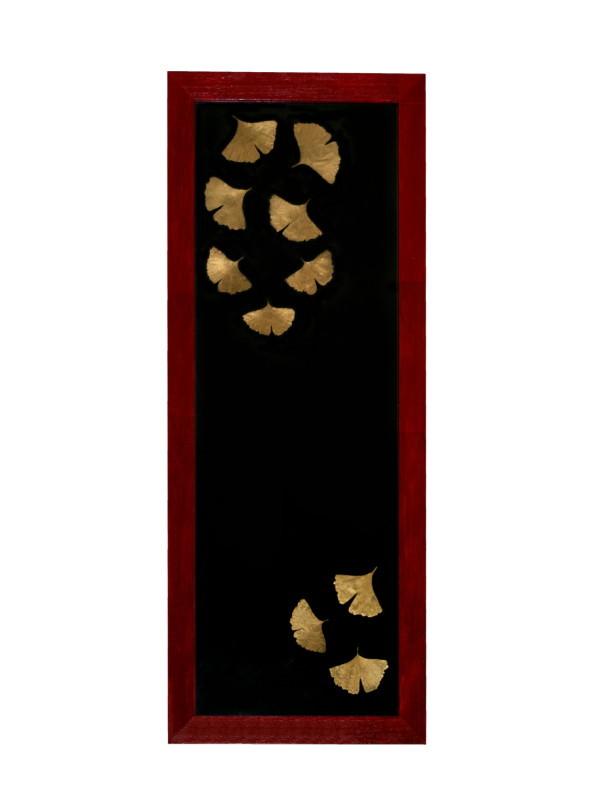 Kyoto,  tehnică mixtă pe lemn, 40 x 102 cm