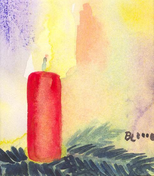 Kerze 2000