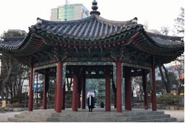 1919年の独立宣言書が読み上げられたソウルのパゴダ公園(現・タプコル公園)で、2019年3月1日「自由朝鮮のための宣言文」が朗読された