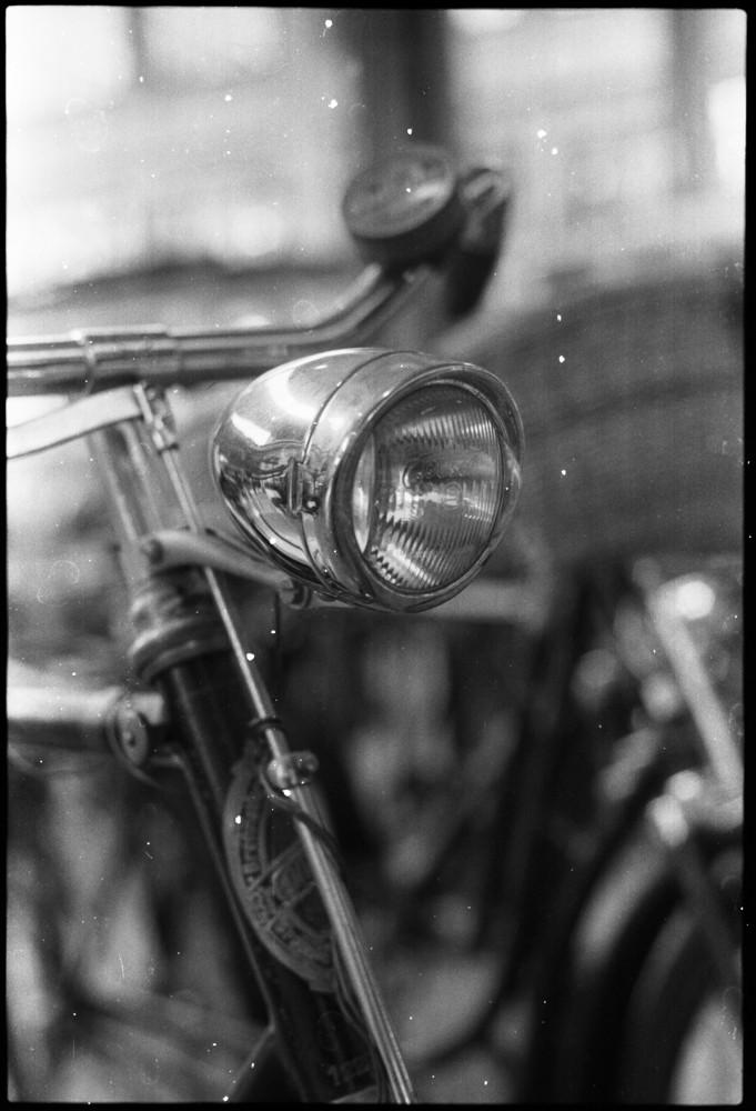Fahrradlampe - Verkehrsmuseum München