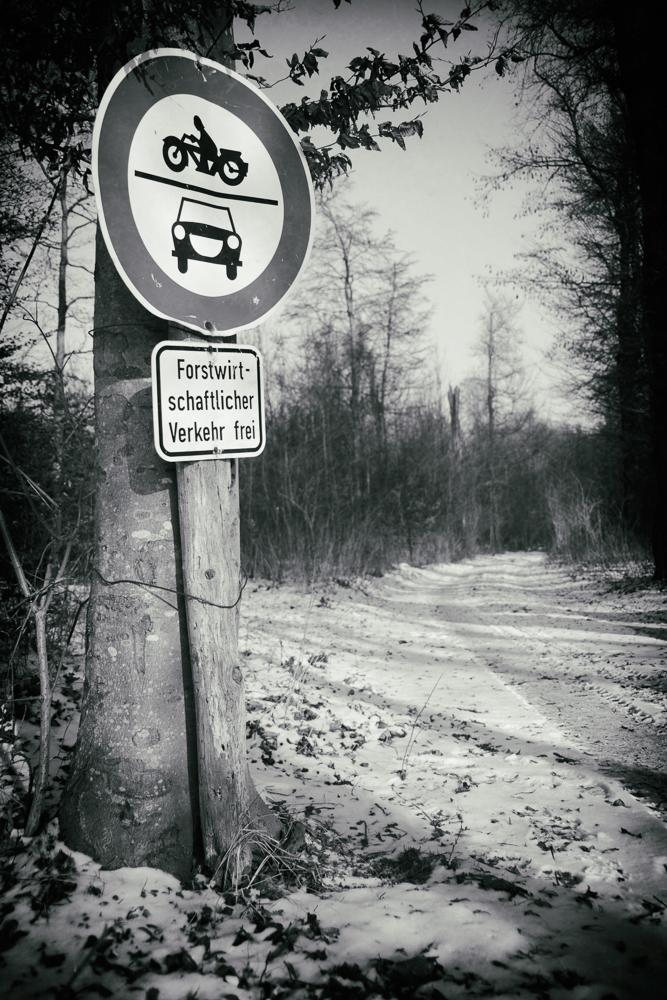 Forstwirtschaftlicher Verkehr frei