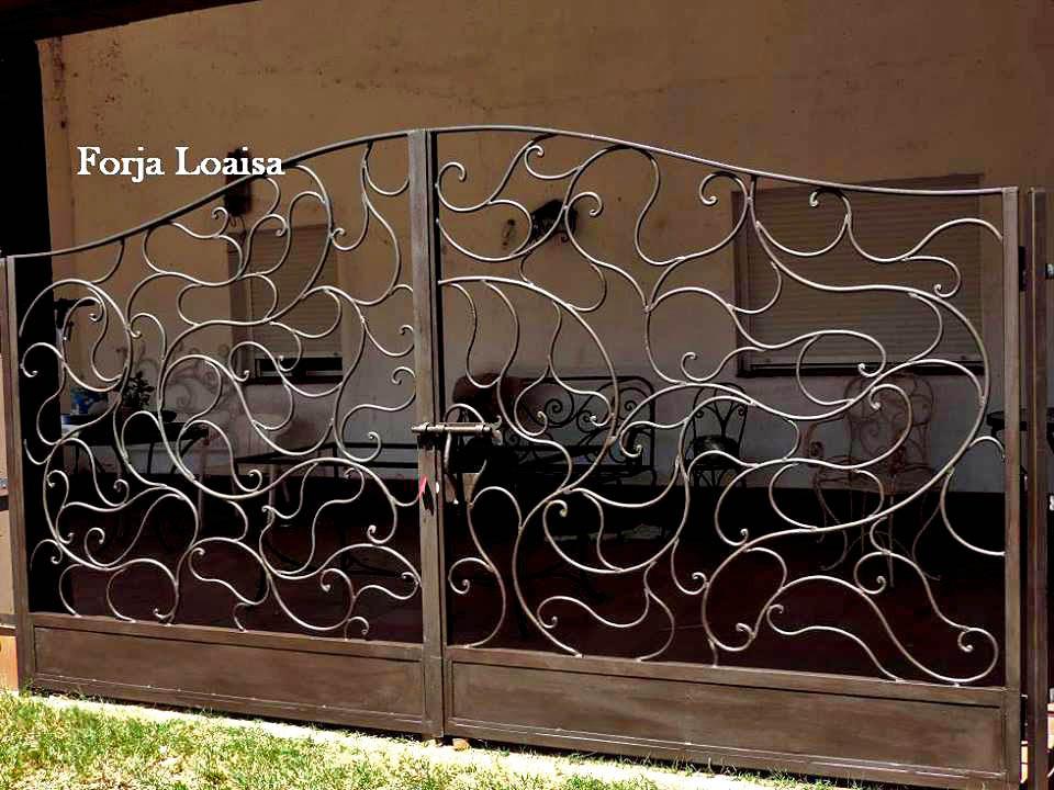 Puertas de hierro forja loaisa - Vallas de forja ...