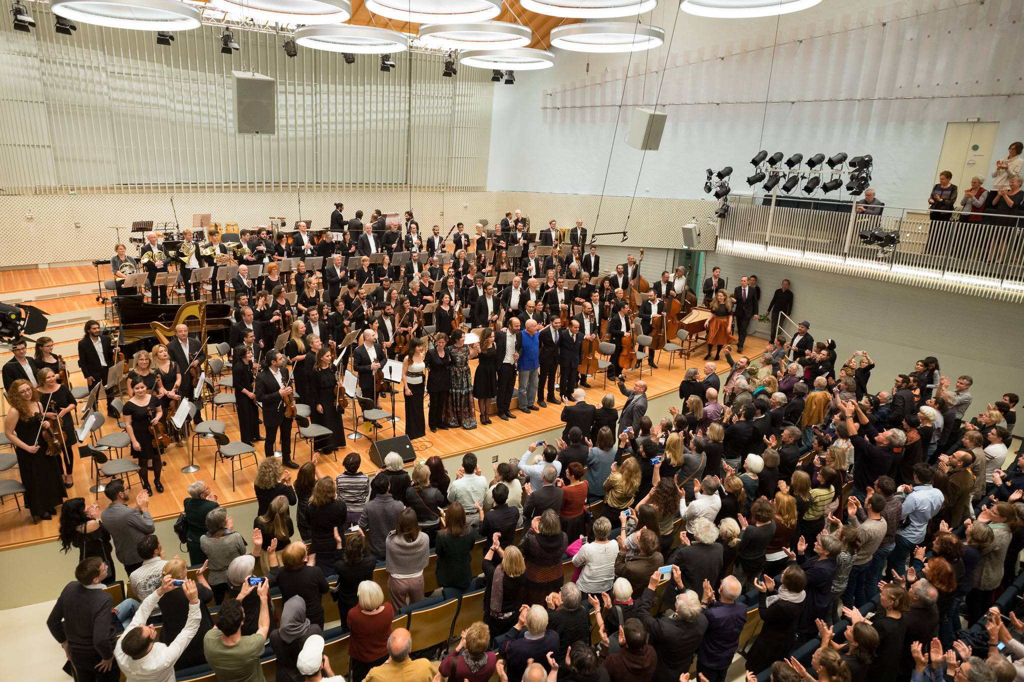 Syrian Expat Philharmonic Orchestra, UDK Berlin