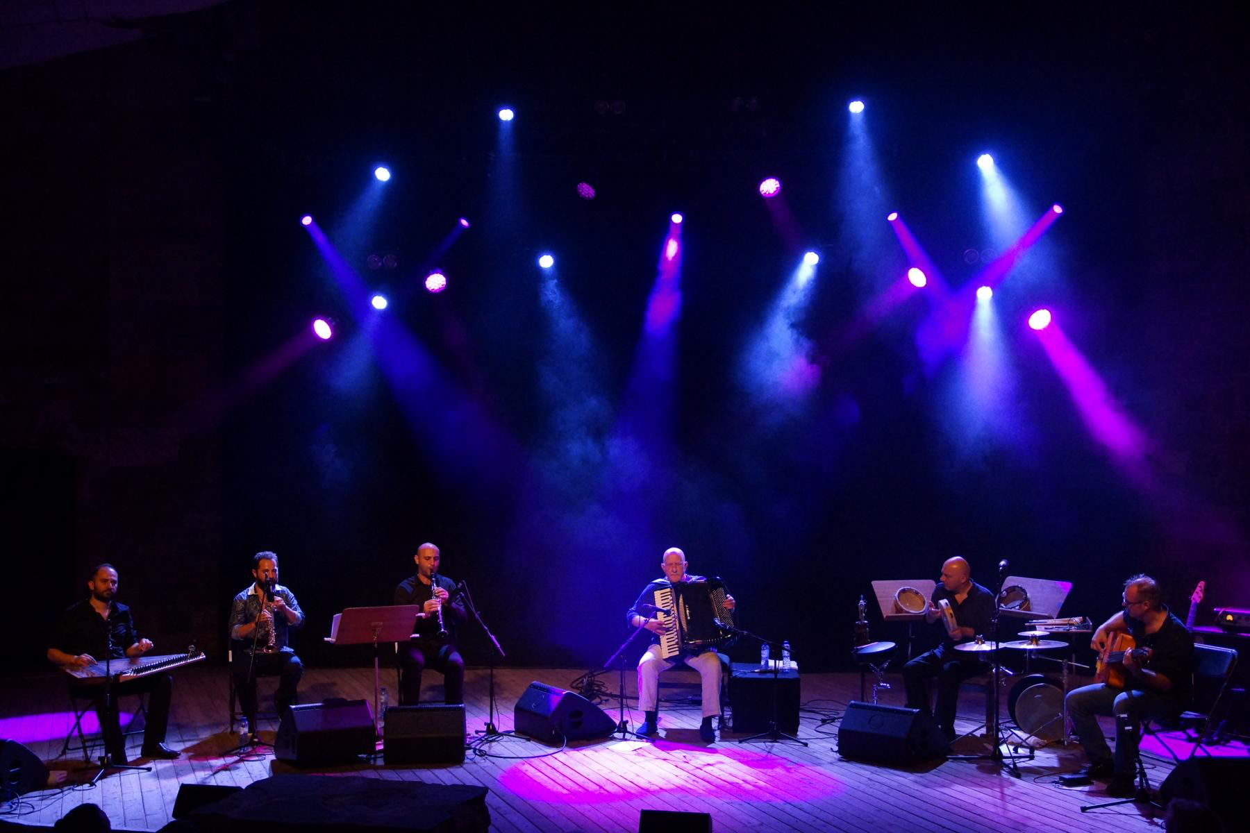 Mit Feras Sharestan, Basel Rajoub, Mohamed Najem Andrea Piccioni, Antoine Pütz, Burg Wilhelmstein