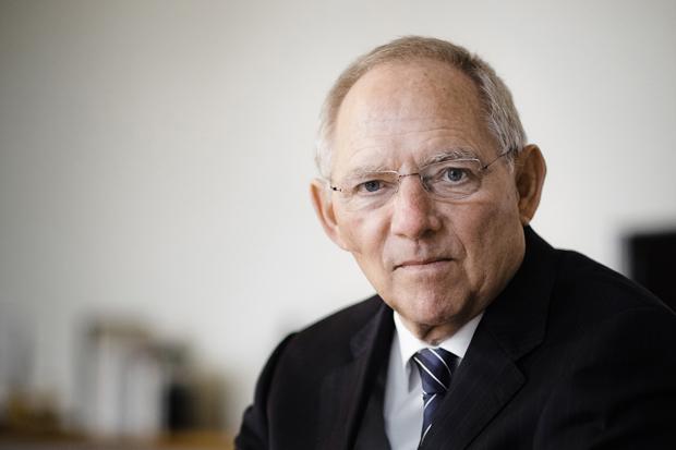 Wolfgang Schäuble - CDU Bundesfinanzminister  - Colloquium 2004