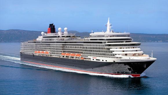 Cunard Queen Elizabeth ex 6187