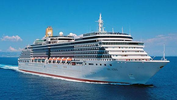 P&O Cruises Arcadia ex 6078