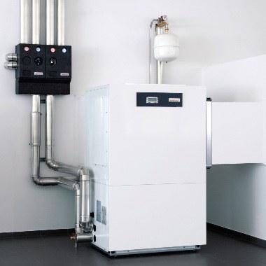Hervorragende Energieausbeute: Aus 1 kW Strom gewinnt eine  Sole/Wasser-Wärmepumpe bis zu 5 kW Heizleistung. Damit gehört sie zu den besten Energieverwertern auf dem Markt