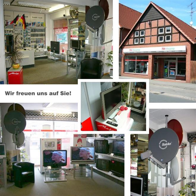 Ladengeschäft - TV-Heyne - Lange Straße 64 - Wunstorf.