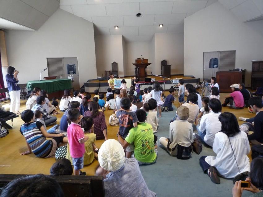 ヒキダシワークショップ主催「おやこライブ」in平安教会