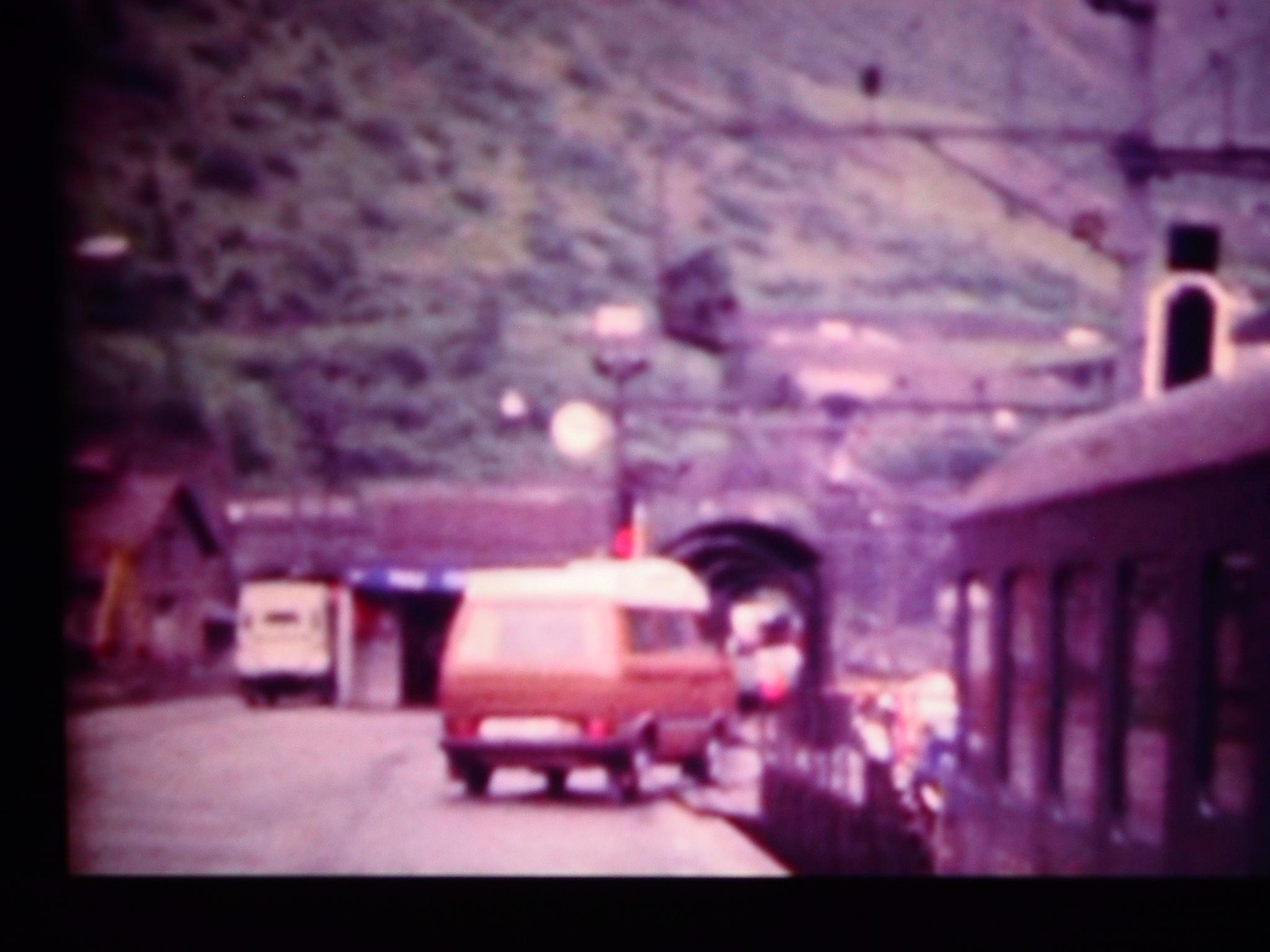 1981 ab in den Autozug gen Süden.