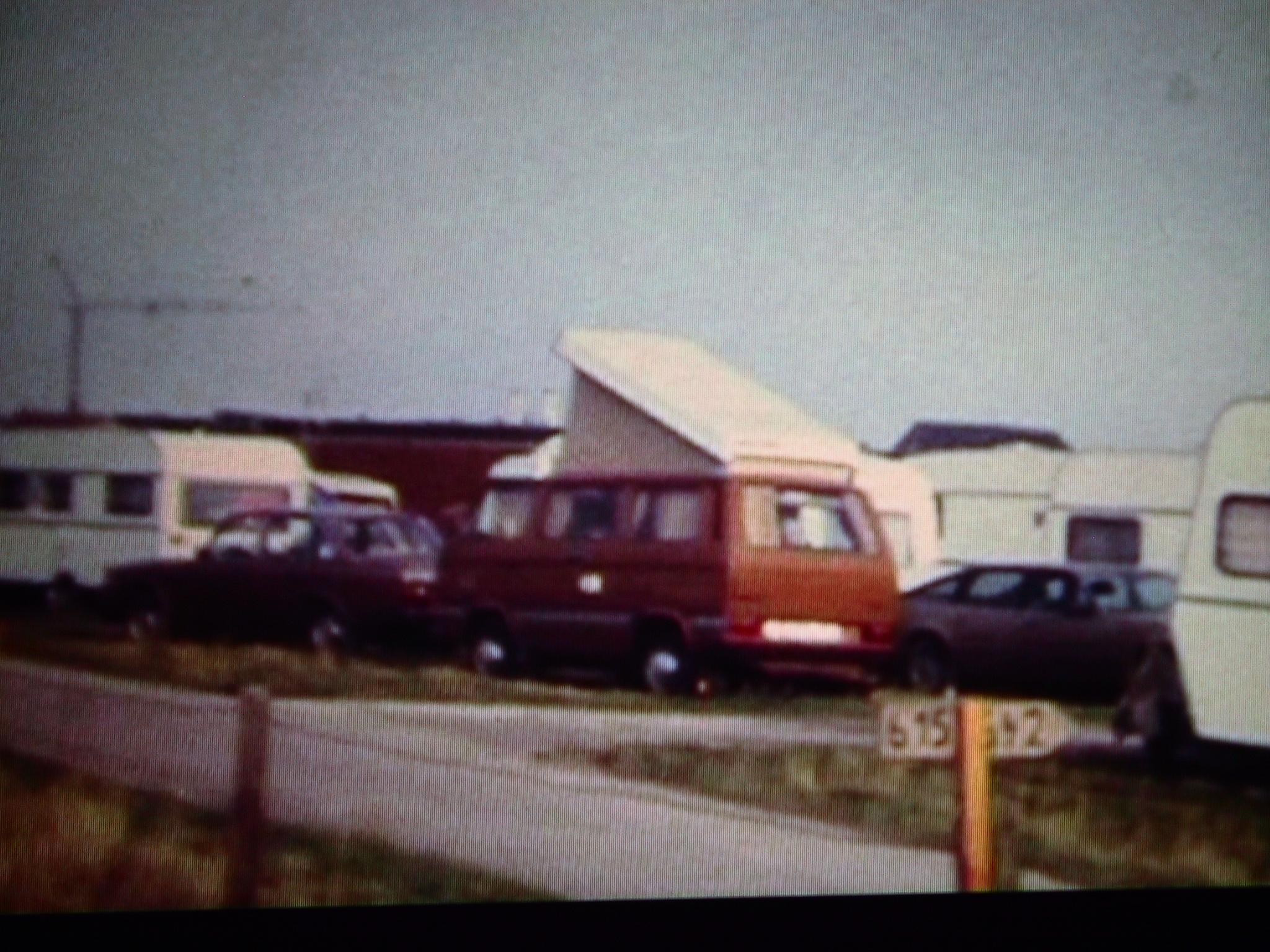 Camping an der Nordseeküste.