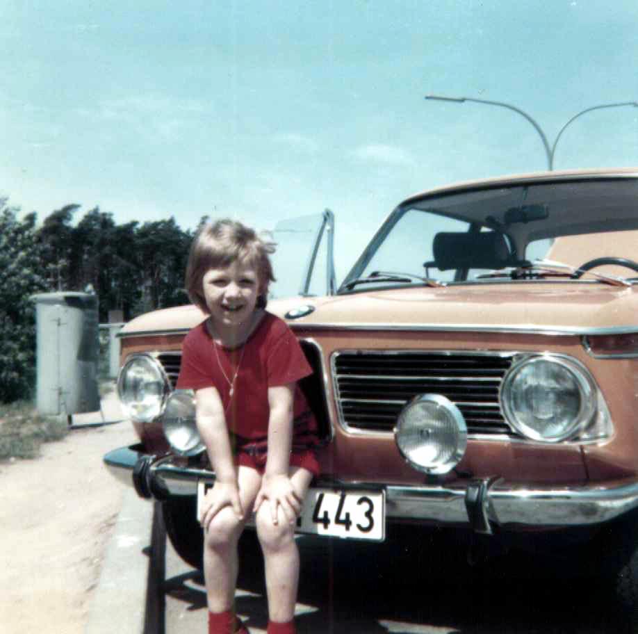 Das erste Auto, zumindest das erste, in dem ich saß.
