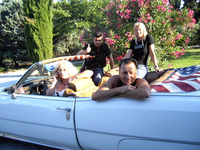 Ma copine Irène et sa Cadillac