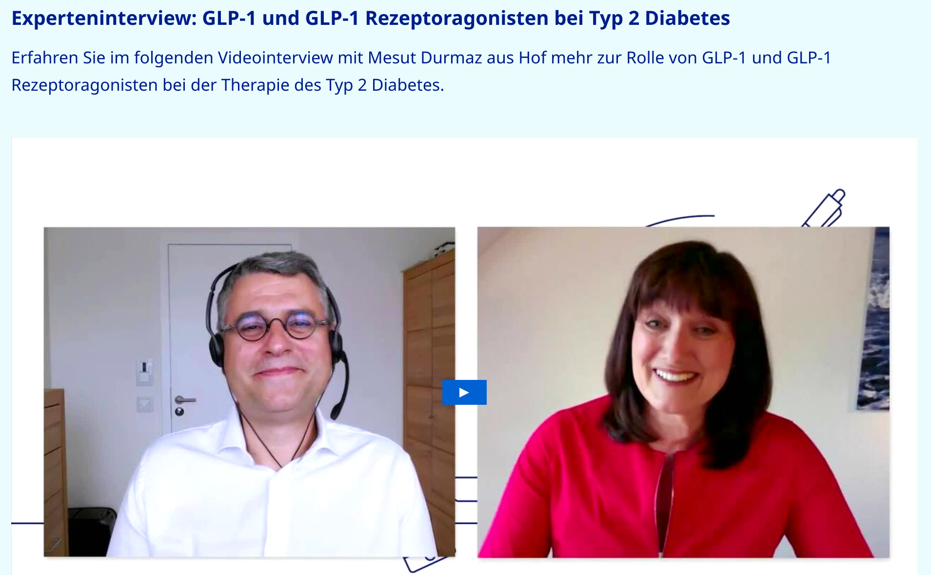 Videopodcast Experteninterview Typ 2 Diabetes