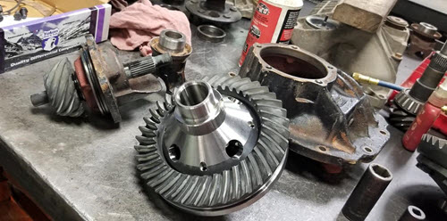 Yukon ring and pinion gears for 1986 Chevy Corvette