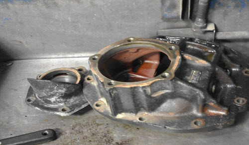 Third member of rear differential 1966 Ford Mustang