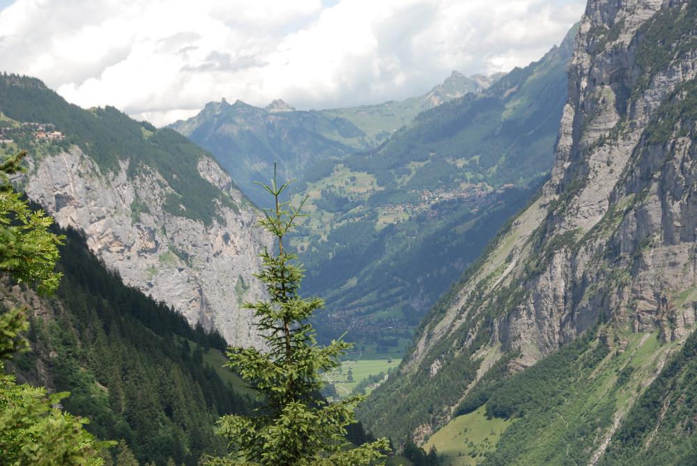 Blick ins Lauterbrunnental