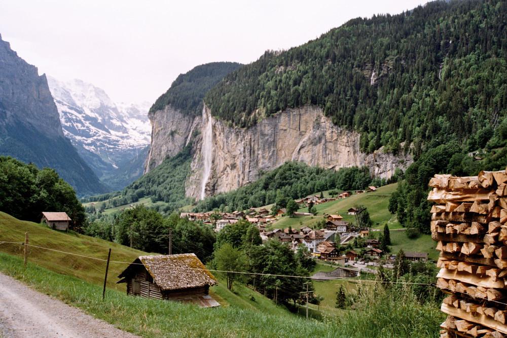 Lauterbrunnen mit Staubbachfall