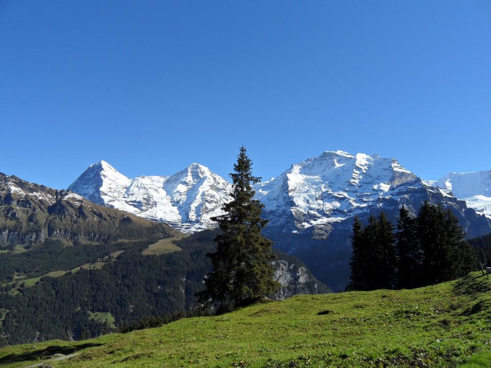 Eiger,Mönch und Jungfrau