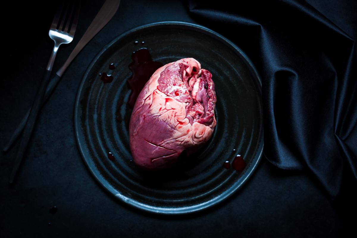 4,90 €/Kilo (Schweineherz), Vivi D'Angelo, 2016