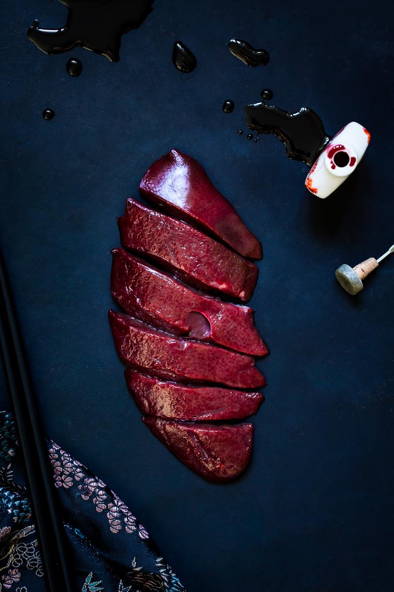12,49 €/kg (veal liver), Vivi D'Angelo, 2017