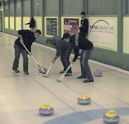 Curling Langnau Dezember 2008