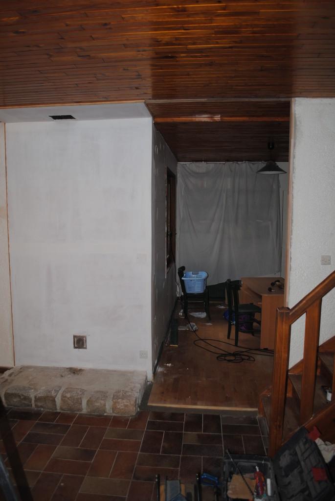 Peinture plafond et mur