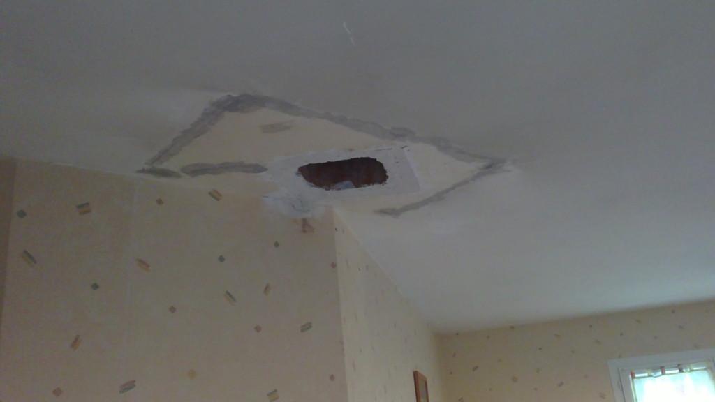 Reprise du plafond