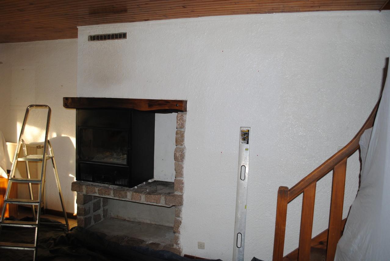 Vue de la cheminée avant démolission