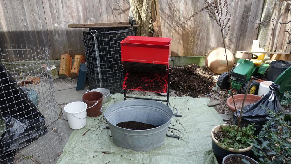 Kompostaufbereitung! - Foto UGN