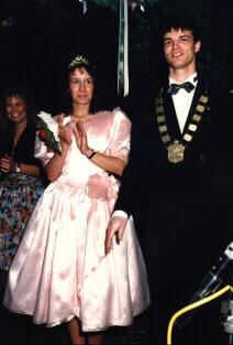 Maikönigspaar 1992