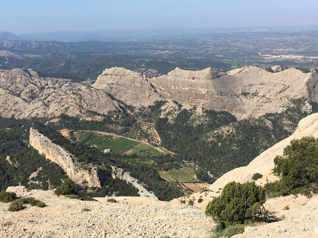 regard vers la vallée