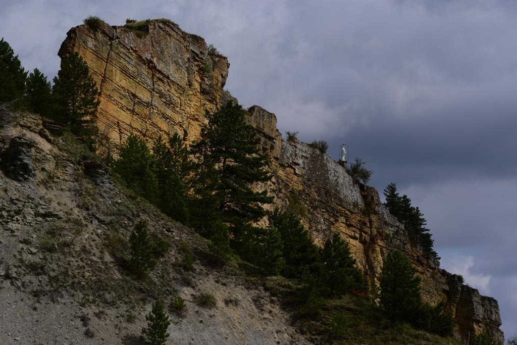 falaise de Cénaret