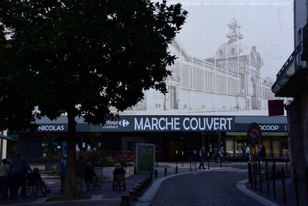 marché parking