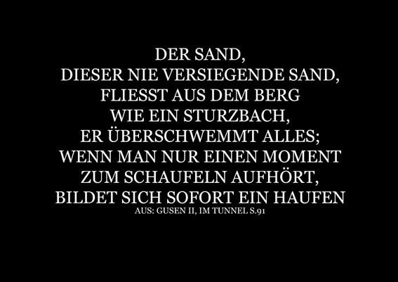 240.000 Kubikmeter gebrochener Sand. Konzept für St Georgen an der Gusen