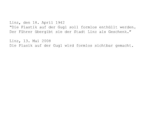 formlos - Hohlräume der Geschichte