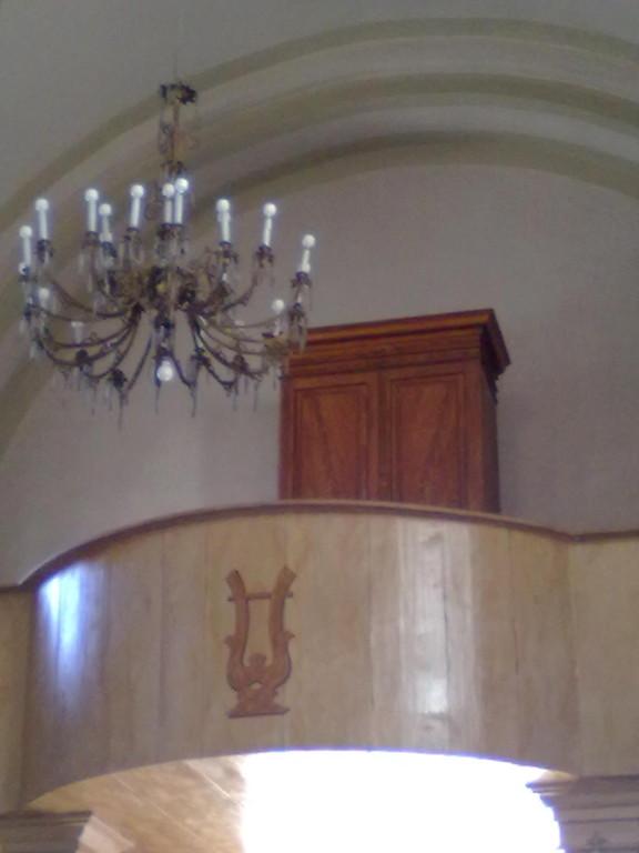 Cantoria e organo