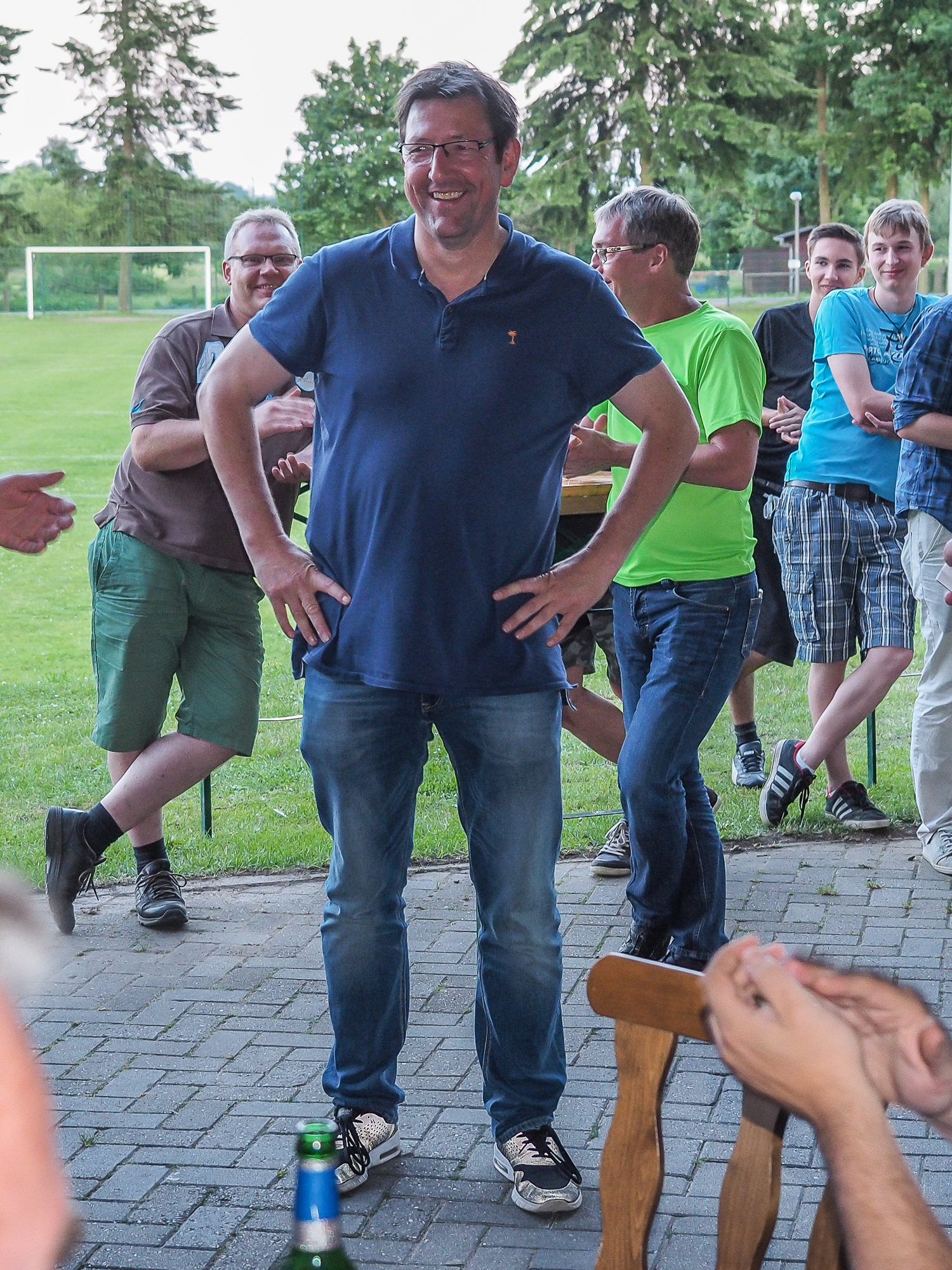 Schützenfest Salzhausen - Probekönig Manny Menth