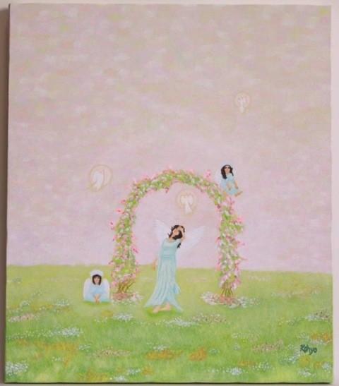 「Concerto」油彩・キャンバス F10