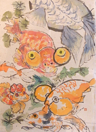 「金魚おっさん」ドラード大賞(2010)受賞作品