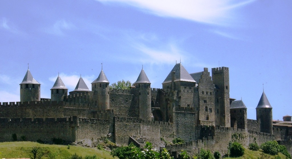 Carcassonne walled city