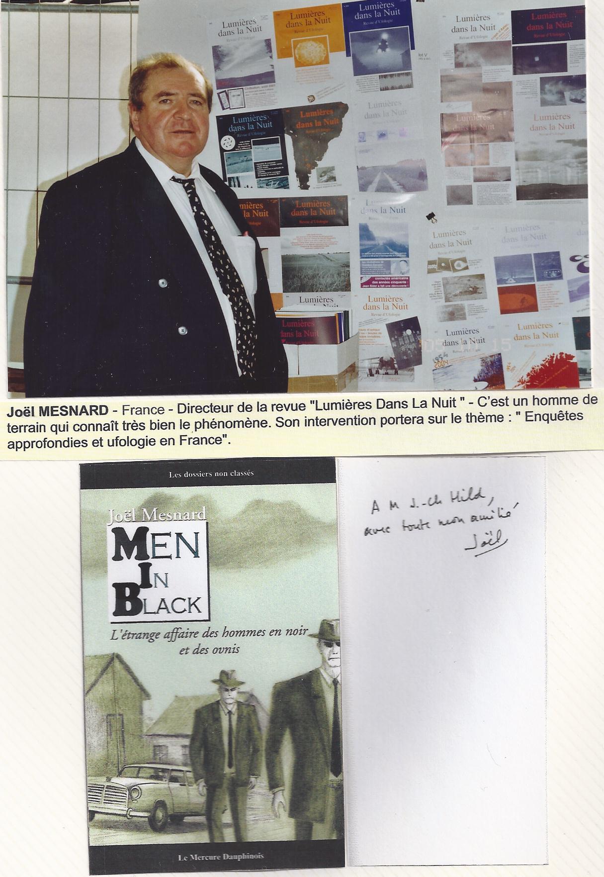 Joël MESNARD - 15 octobre 2005